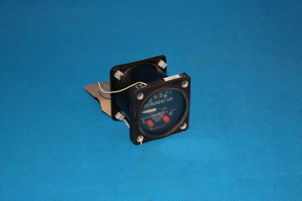Airborne- Dual Engine Inst-Vac Source Gauge 1G9-36 (Lighted)
