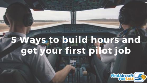 Top 5 Ways Pilots Can Build Flight Time