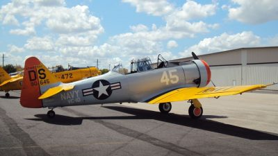 1945 Vintage Airplane SNJ5 T6