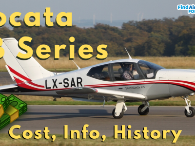Socata TB Series costs and info